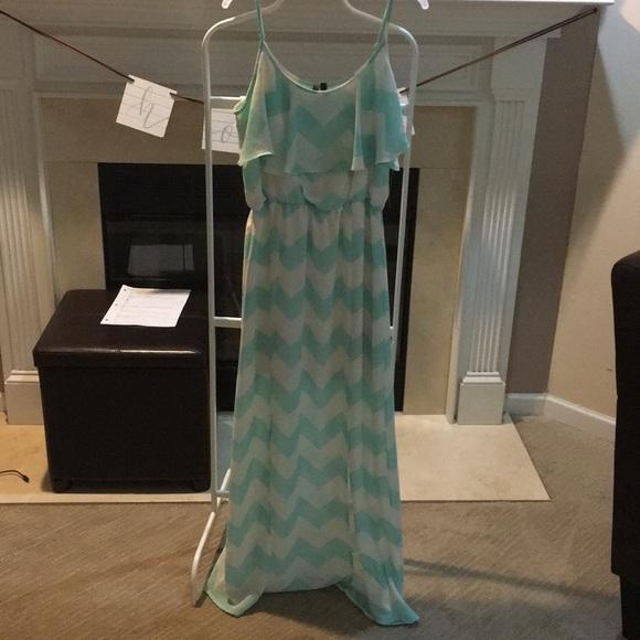 HeartSoul Dresses & Skirts - Chevron pattern maxi dress
